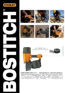 Gwoździarki STANLEY- BOSTITCH