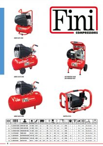 Kompresory tłokowe FINI