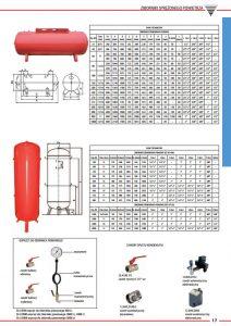Zbiorniki ciśnieniowe pionowe i poziome