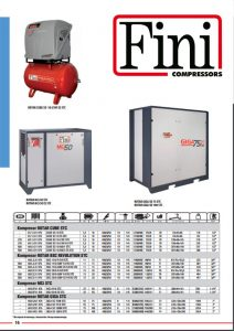 Kompresory śrubowe FINI