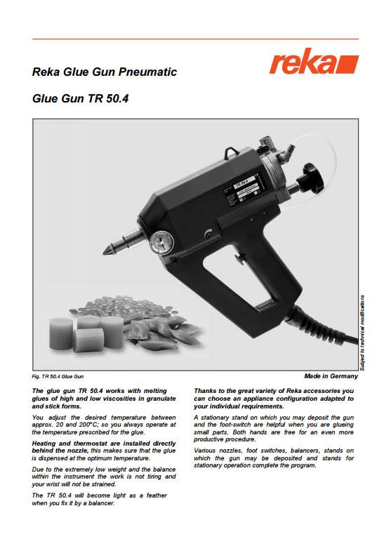 Pistolet REKA TR50