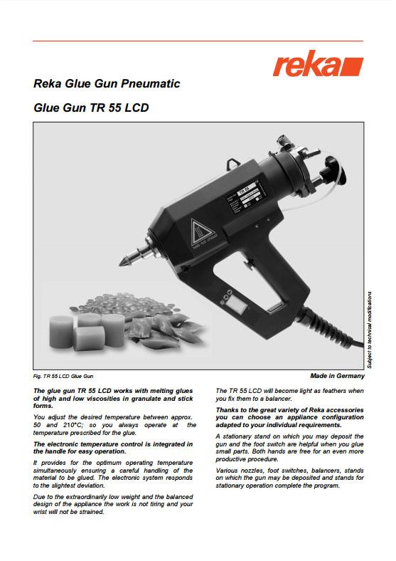 Pistolet REKA TR55 LCD