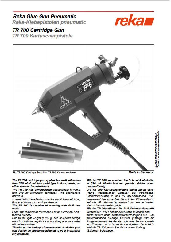 Pistolet REKA TR70