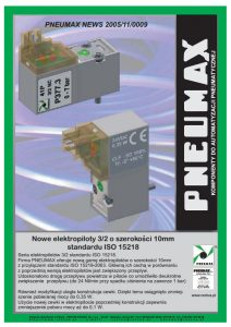 Elektrozawory seria 300_10 mm ISO PNEUMAX