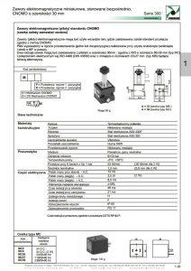 Elektrozawory seria 300_30 mm PNEUMAX