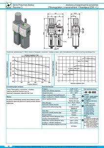 Seria Air 3 filtroregulator z manometrem + naolejacz PNEUMAX