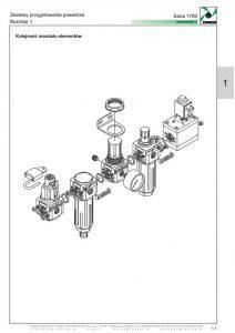 Seria 1700-1 filtr dokładny koalescencyjny PNEUMAX
