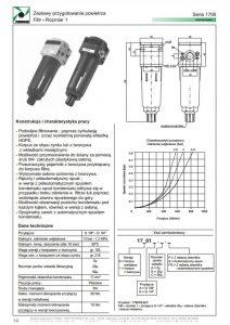 Seria 1700-1 filtr PNEUMAX