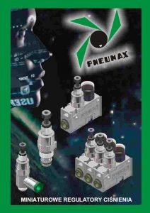 Seria 1700-1 miniaturowy regulator ciśnienia PNEUMAX