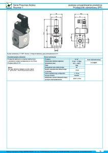 Seria Air przełącznik ciśnieniowy  presostat PNEUMAX