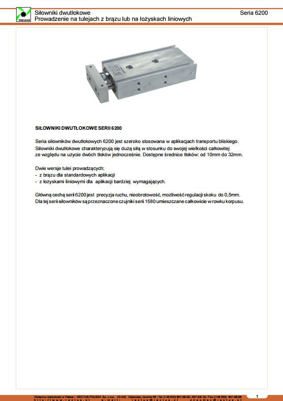 Seria 6200 moduły dłutłoczyskowe PNEUMAX