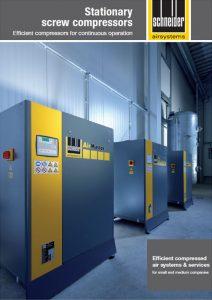 Kompresory śrubowe SCHNEIDER stacjonarne