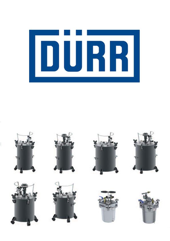 Zbiorniki ciśnieniowe DÜRR Pot