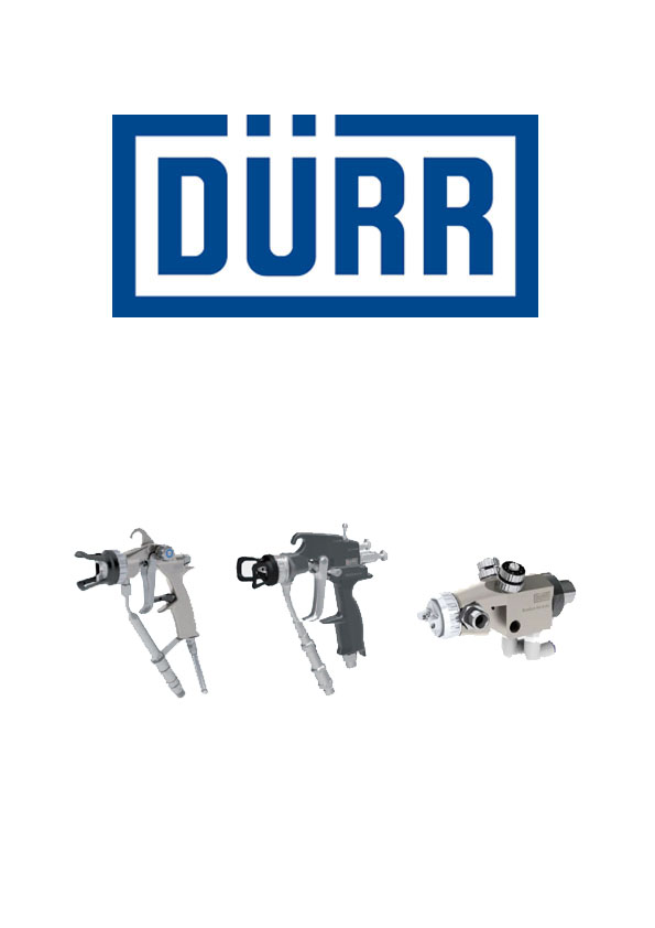 Pistolety Air-Assist EcoGun DÜRR