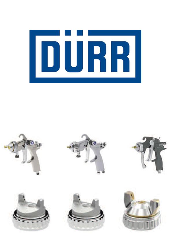 Pistolety AS MAN 246, 249, 910S DÜRR