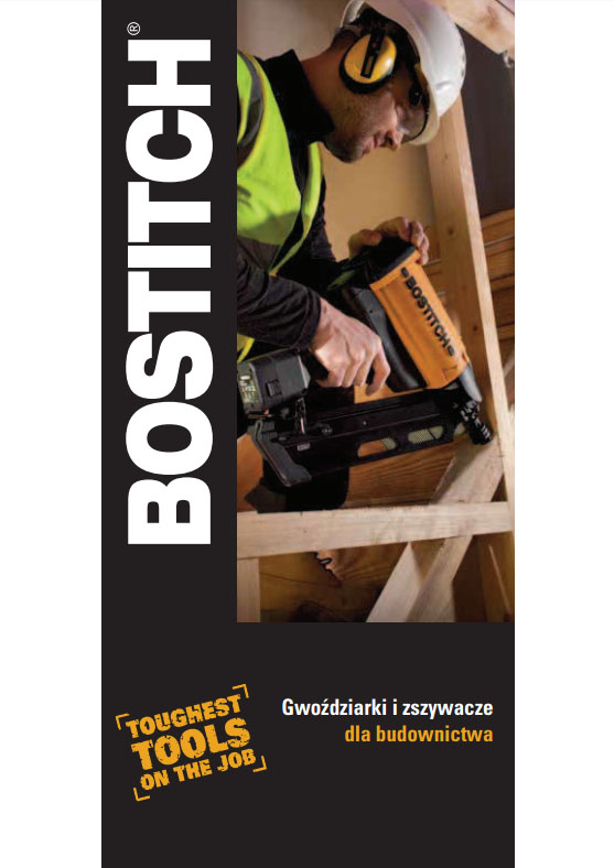 Sztyfty Construction Catalogue BOSTITCH