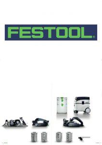 FESTOOL - wyposażenie strugów i materiały eksploatacyjne