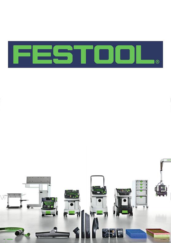 FESTOOL - wyposażenie odkurzaczy i materiały eksploatacyjne