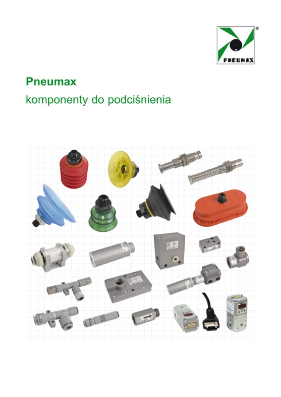 PNEUMAX - komponenty do podciśnienia