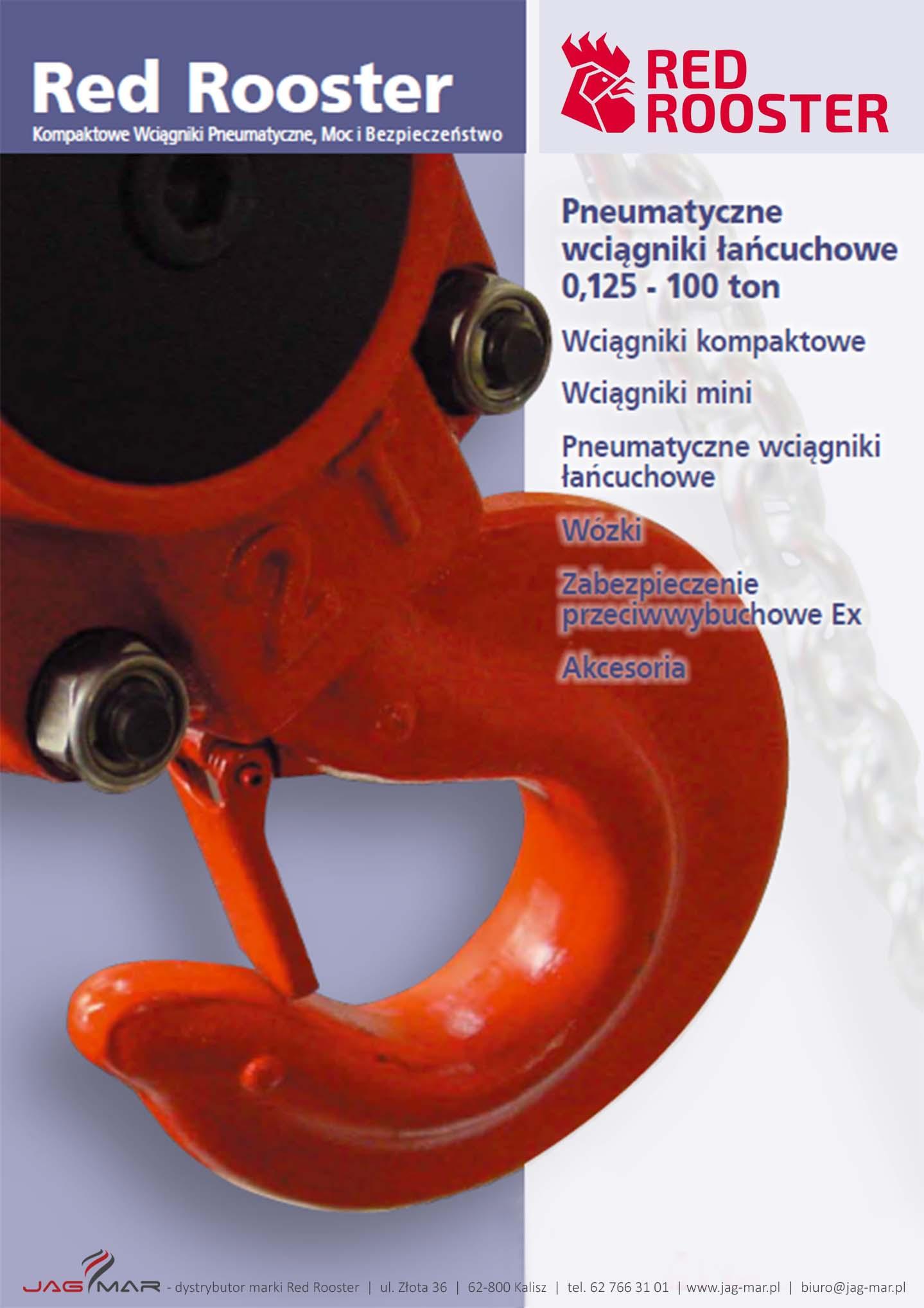 Wciągniki pneumatyczne RED ROOSTER | PL