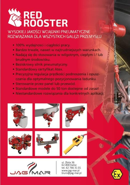 Wciągniki RED ROOSTER - zalety