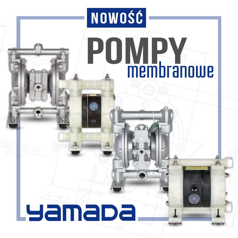 yamada pompy membranowe