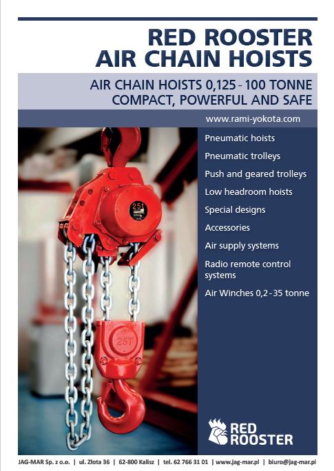 Wciągniki pneumatyczne RED ROOSTER | ENG