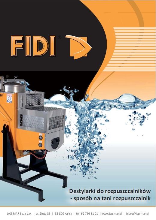 Destylarki do rozpuszczalników FIDI