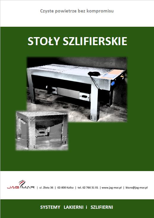 Katalog stoły szlifierskie