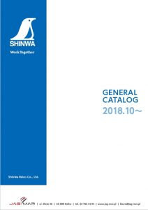 Narzędzia pomiarowe SHINWA