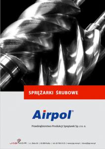 Sprężarki śrubowe AIRPOL