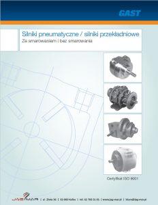 Silniki pneumatyczne GAST